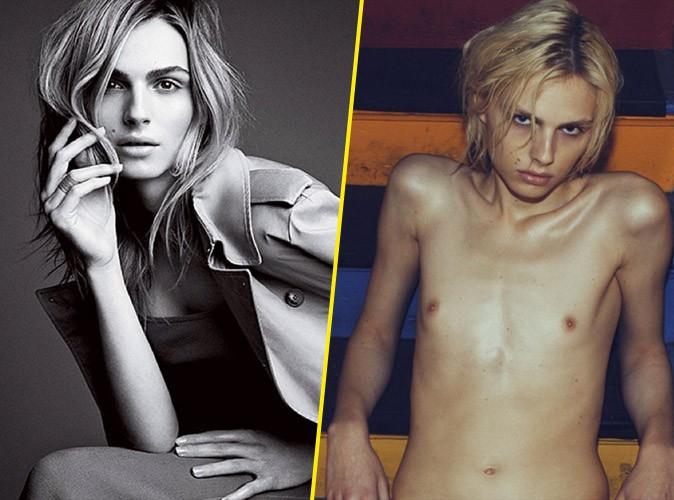 Photos : Andreja Pejic, le premier mannequin transgenre à paraitre dans Vogue US !