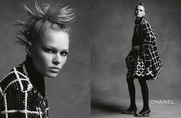 Anna Ewers pour Chanel
