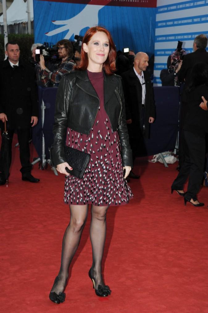 Audrey Fleurot au Festival de Deauville
