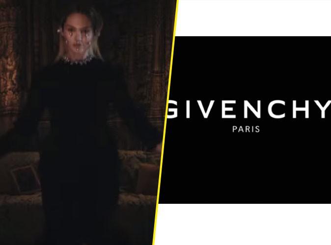 Photos : Candice Swanepoel joue les romantiques sombres pour Givenchy !