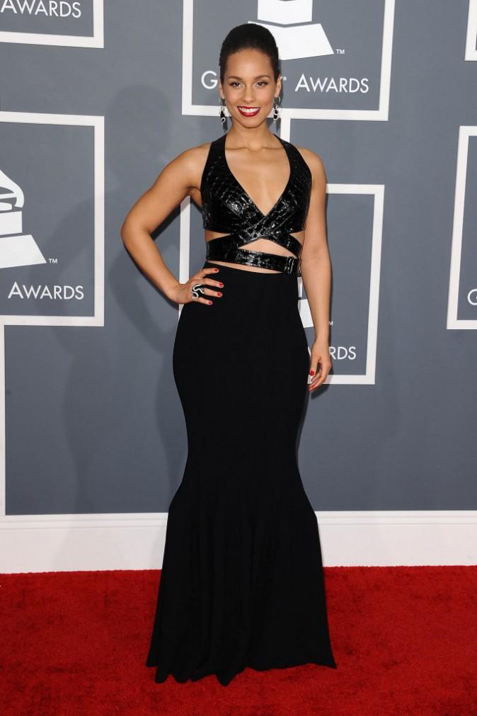 Alicia Keys en Azzeadine Alaïa