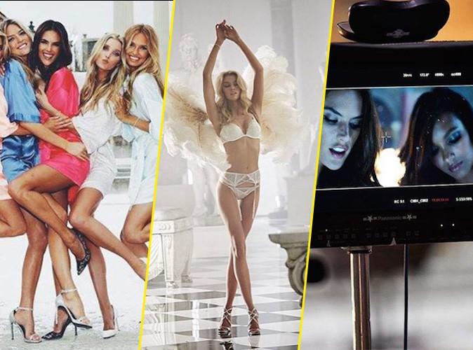 Photos : Backstage du shooting Holidays 2015 des bombes Victoria's Secret... comme si vous y étiez !