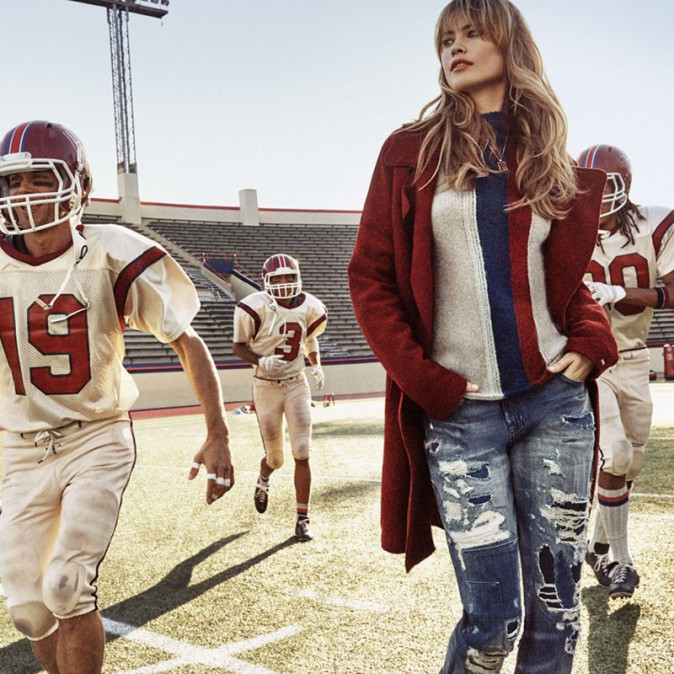 Behati Prinsloo pour Tommy Hilfiger