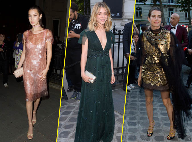 Photos : Bella Hadid, Alice Isaaz, Charlotte Casiraghi... tous les plus beaux looks de la soirée Vogue Foundation Gala !