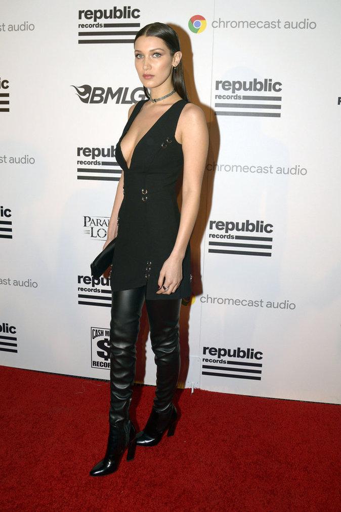 Photos : Bella Hadid : du look sportif et minimaliste, à la robe glamour et sexy, découvrez son CV fashion !