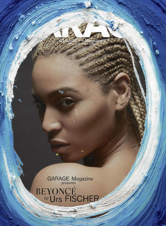 Photos : Beyoncé la joue 50 Shades of Blue pour Garage Magazine !