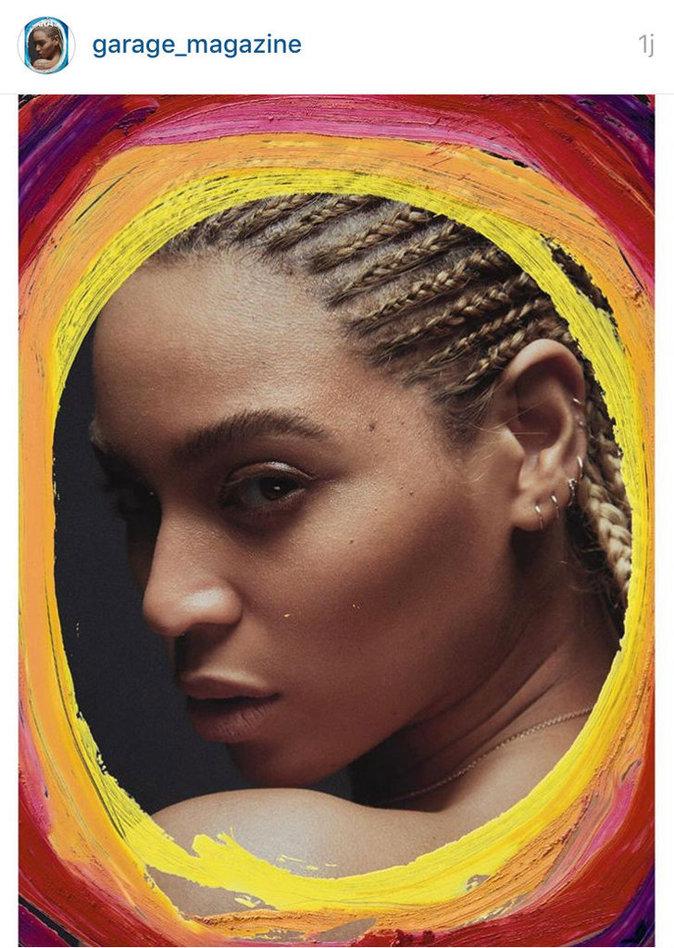 Photos : Beyoncé la joue 50 Shades of Blue pour Garage Magazine !