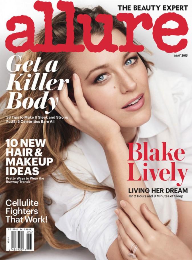 Photos : Blake Lively, ultra naturelle sous l'objectif de Mario Testino, elle se confie à Allure Magazine !