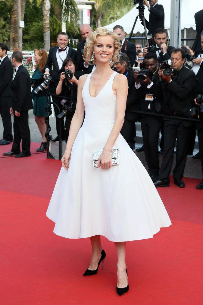 Eva Herzigova en Christian Dior Couture