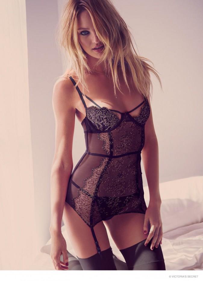 Photos : Candice Swanepoel : alerte à la bombe pour la collection Saint-Valentin de Victoria's Secret !