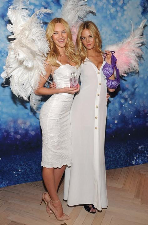 Candice et Erin présentent le nouveau parfum Victoria's Secret !