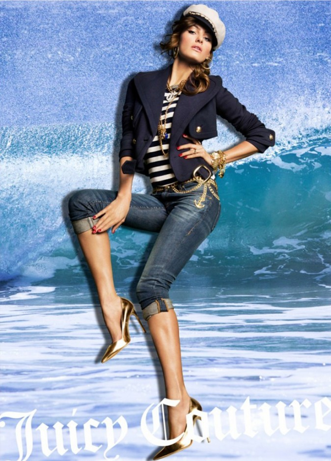 Isabeli Fontana pour Juicy Couture Spring-Summer 2013.