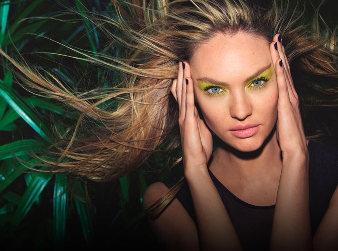 Candice Swanepoel pour Max Factor !
