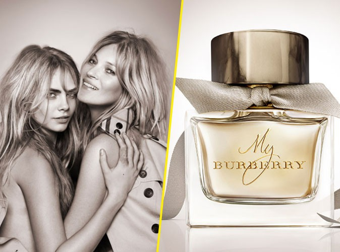 "Photos : Cara Delevingne et Kate Moss, ultra complices pour ""My Burberry"" !"