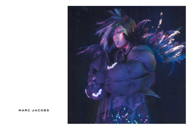 Missy Elliott pour la nouvelle campagne Marc Jacobs