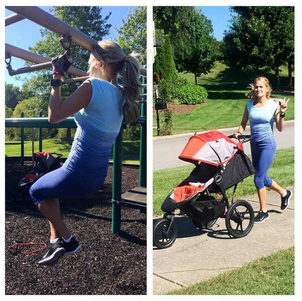 Carrie Underwood, maman sportive !