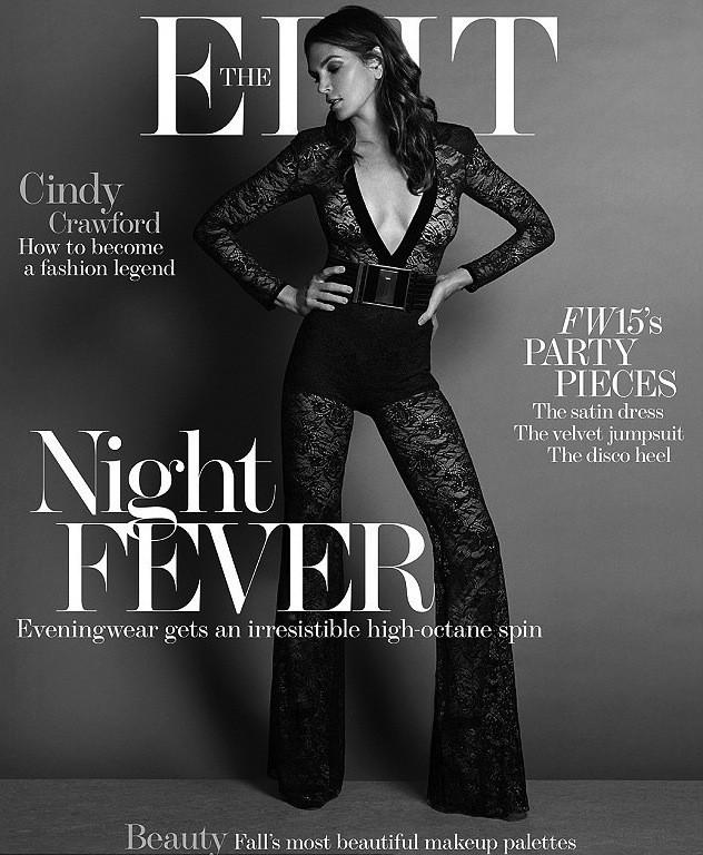 Photos : Cindy Crawford : 49 ans et toujours aussi fabuleuse pour The Edit Magazine !