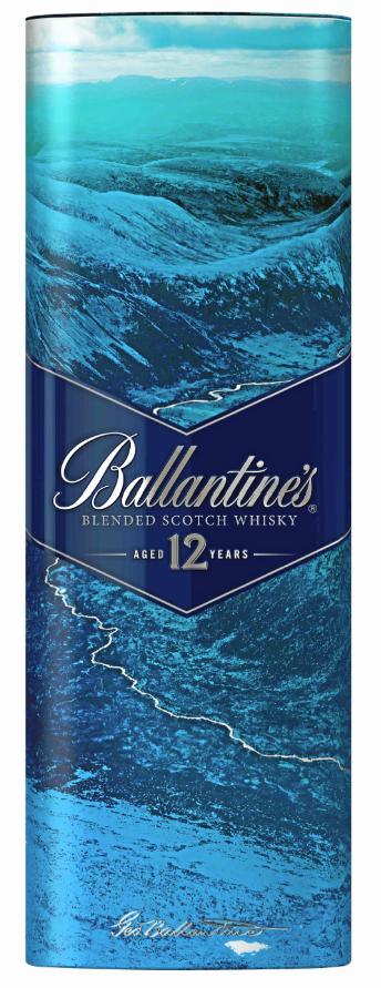 Bouteille Ballantine's 12 ans by Dave Ma, Ballantine's. 22,50 €.