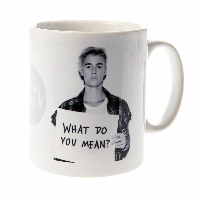 Mug Justin Bieber, Claire's. 11,99 €.