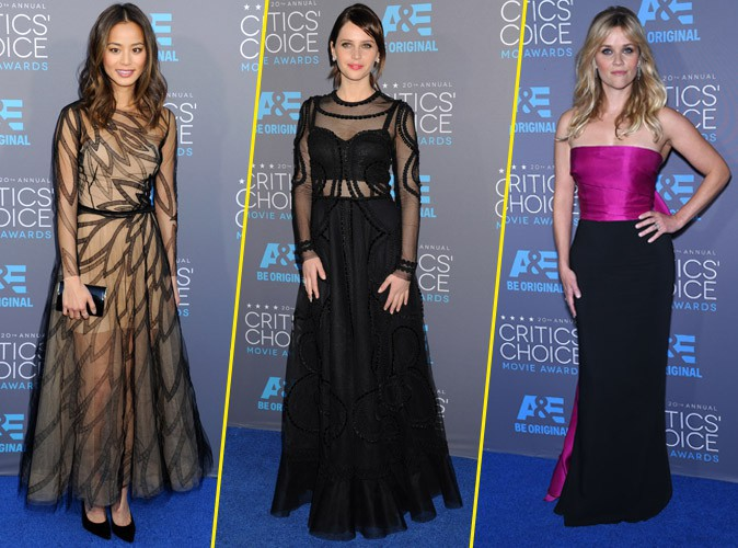 Photos : Critic's Choise Awards 2015 : Jamie Chung, Reese Witherspoon, Felicty Jones… Les pires tenues de la cérémonie !