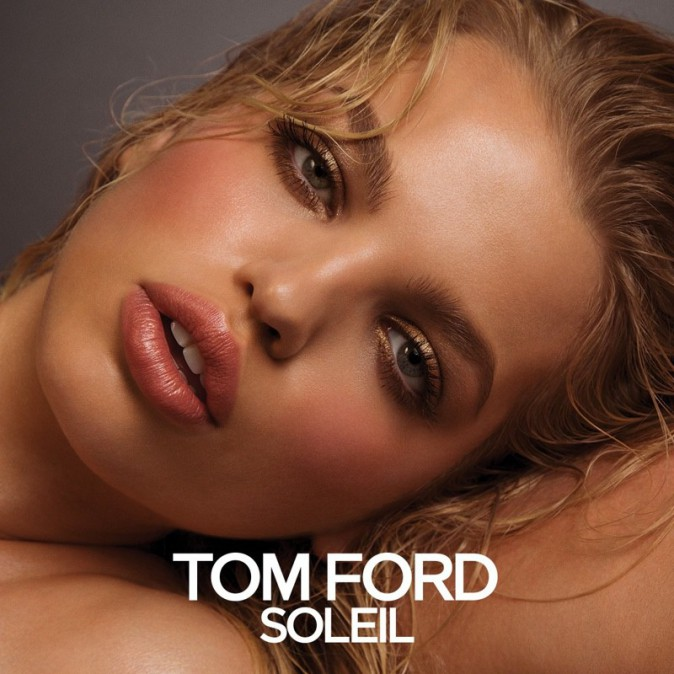 Daphne Groeneveld, un maquillage nude pour Soleil Tom Ford