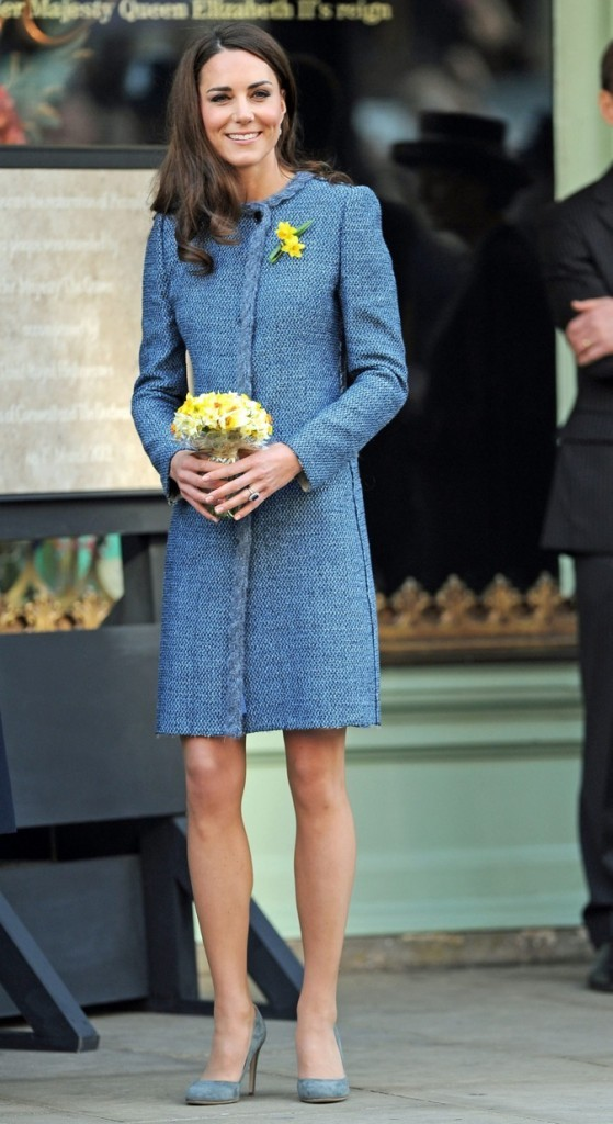Kate Middleton : un peu maigre !
