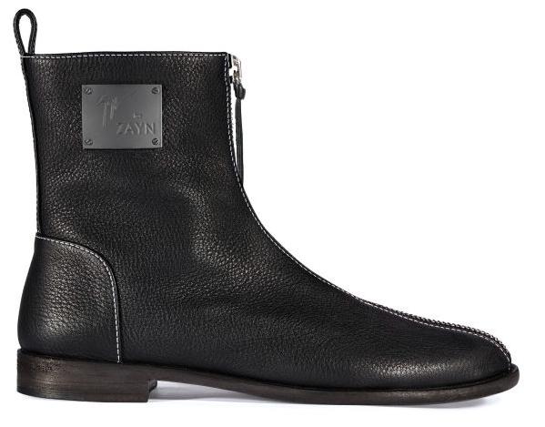 Photos : Découvrez la première paire de boots signée Zayn Malik et Giuseppe Zanotti !