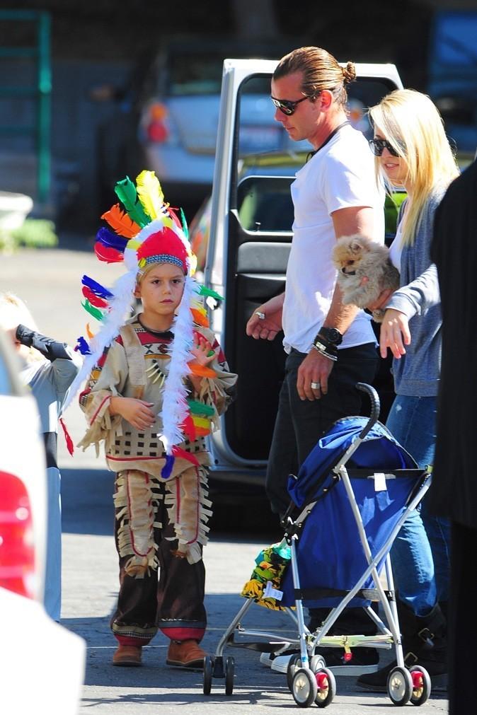 Kingston a choisi le costume d'indien...