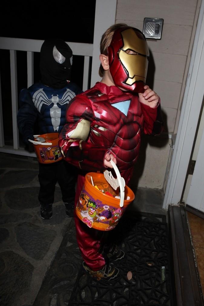Sean Preston (Britney Spears) est Iron Man !