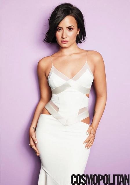 Photos : Demi Lovato : sexy pour Cosmopolitan !