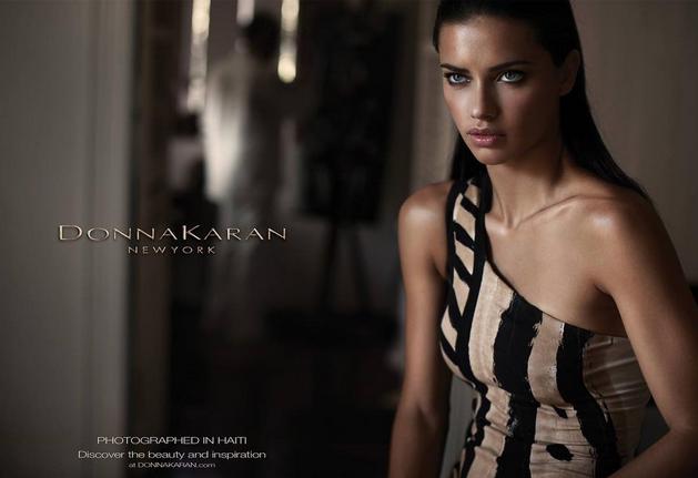 "Adriana Lima : ""#Tbt @donnakaran Pour toujours ❤️❤️❤️"""