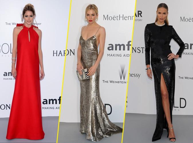 Photos : Doutzen Kroes, Sienna Miller, Natasha Poly... Déferlante de robes glamour pour le gala de l'AmfAR !