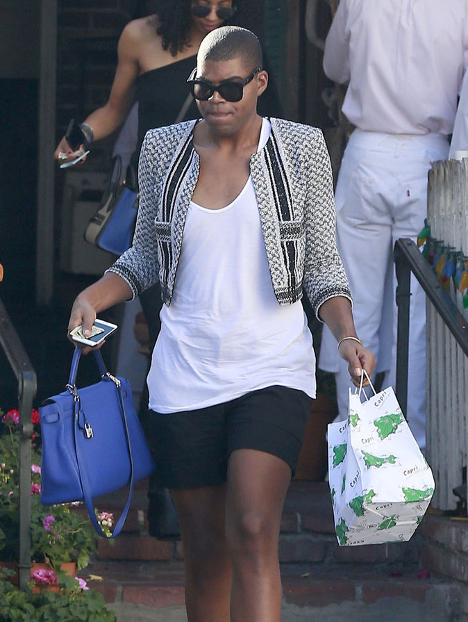 EJ Johnson à Beverly Hills le 11 octobre 2015