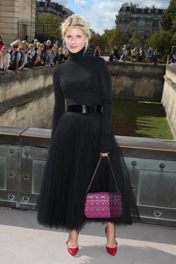 Mélanie Laurent et le Lady Dior