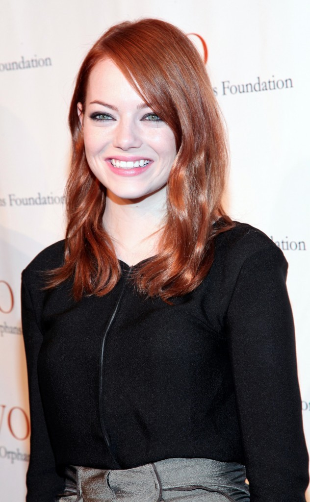 L'actrice Emma Stone !