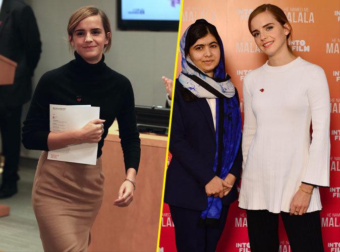 Photos : Emma Watson : Retour sur son look de grand-mère en 2016 !