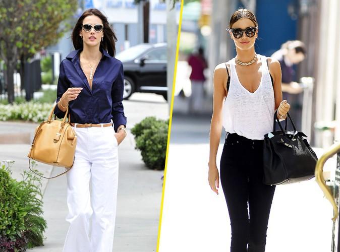 Photos : Fashion battle : Alessandra Ambrosio VS Miranda Kerr !