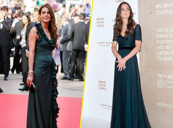 Photos : Fashion battle : Charlotte Casiraghi VS Kate Middleton