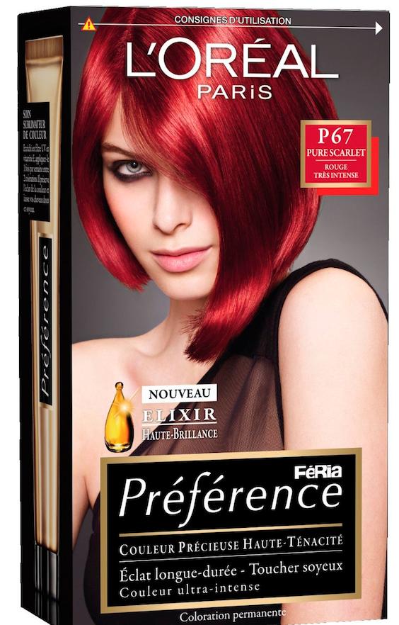 Ses must-have : Coloration rouge, L'Oréal Paris 11,90 €
