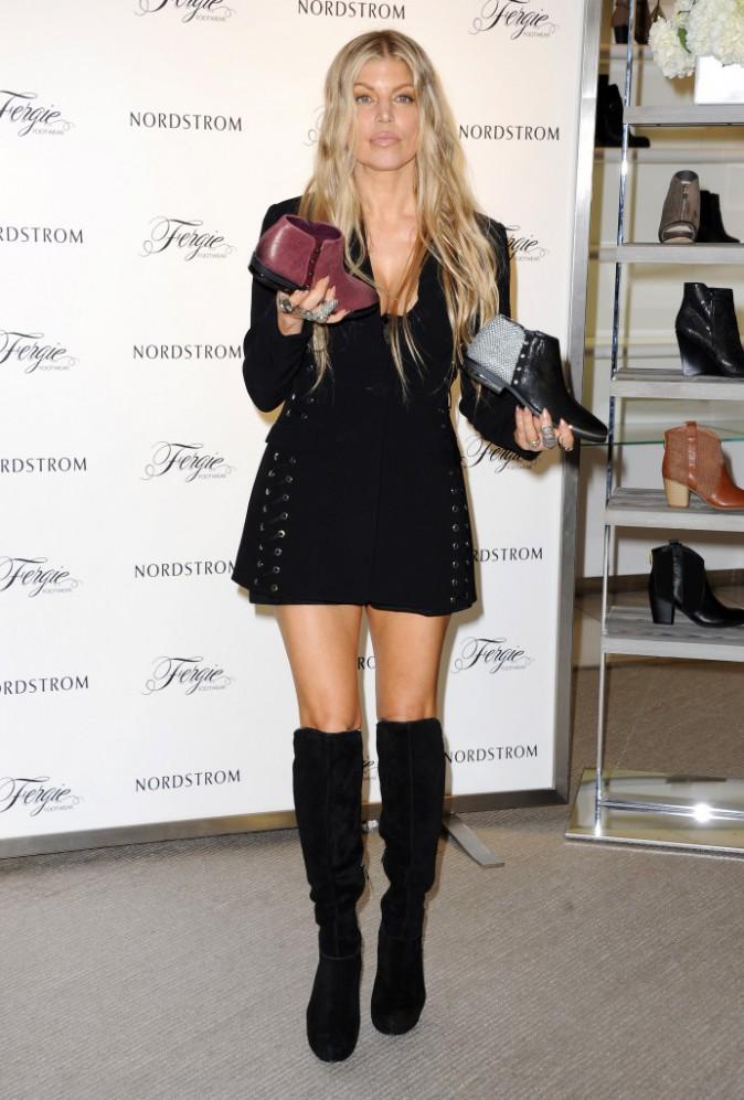 Fergie le 12 septembre 2015