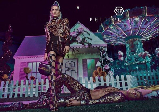 Fergie : Star de la nouvelle campagne Philipp Plein !