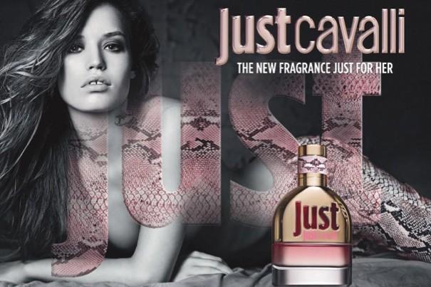 La campgne de publicité Just Cavalli