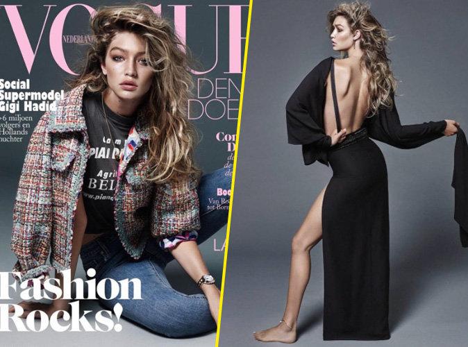 Gigi Hadid pour le numéro de novembre de Vogue néerlandais