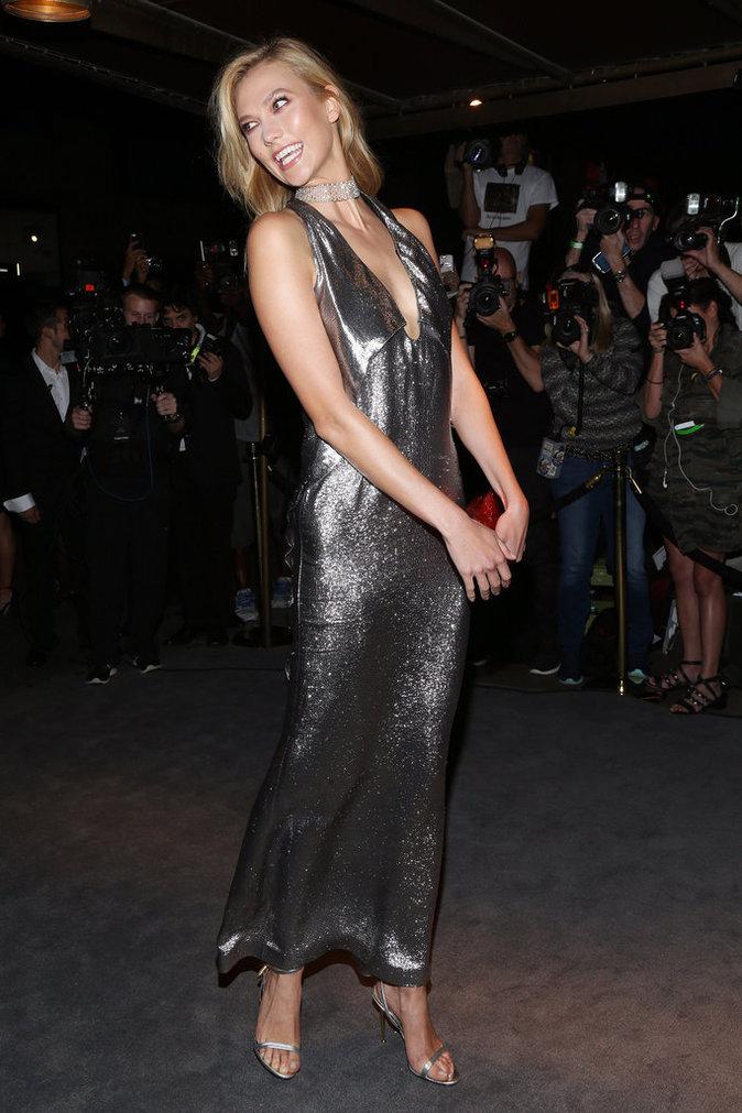 Karlie Kloss au défilé Tom Ford