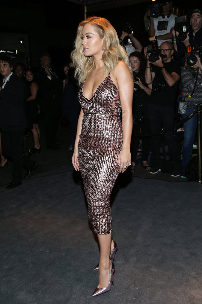 Rita Ora au défilé Tom Ford