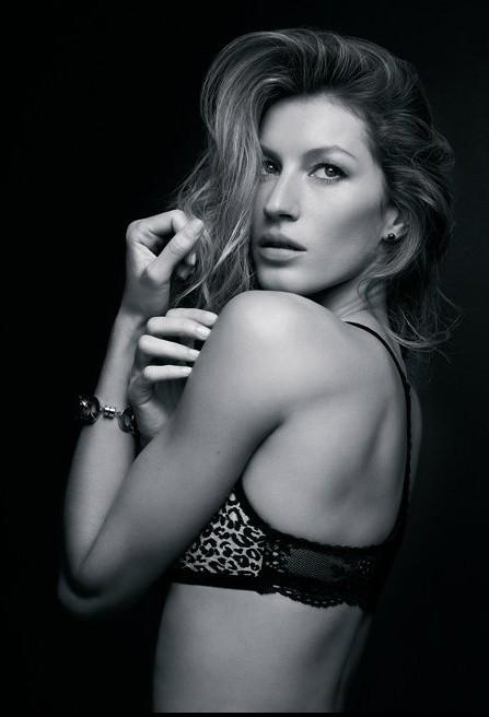 Gisele Bündchen pose pour sa propre ligne de lingerie fine Brazilian Intimate...