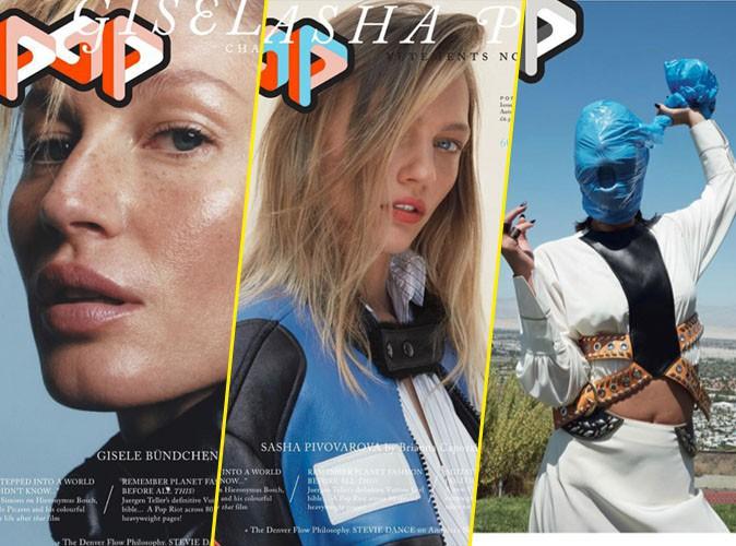 Photos : Gisele, Sasha, Adèle... Les beautés naturelles et étranges de Pop Magazine !