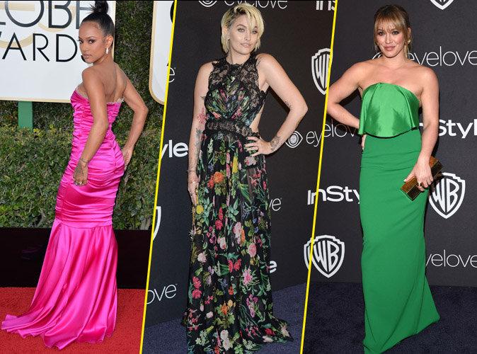 Golden Globes 2017 : Karrueche Tran, Paris Jackson, Hilary Duff : les pires looks de la soirée !