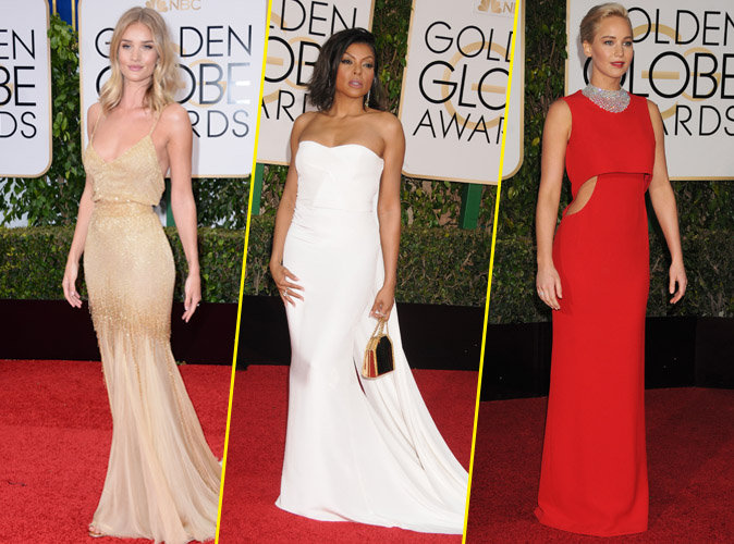 Rosie Huntington-Whiteley Taraji P. Henson et Jennifer Lawrence