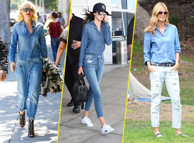 Photos : Gwen Stefani, Kendall Jenner, Heidi Klum... Elles se sont pas Jean-ées !